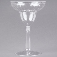 Fineline Flairware 2312 12 oz. Clear Plastic Margarita Glass - 12/Pack