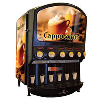 Grindmaster PIC6 Six Flavor Powdered Specialty Beverage Dispenser