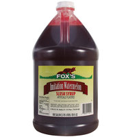 Fox's Watermelon Slush Syrup - (4) 1 Gallon Containers / Case