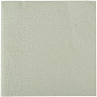 Hoffmaster 180346 Soft Sage Green Beverage / Cocktail Napkin - 250 / Pack