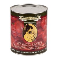 Roasted Red Bell Peppers 6 - #10 Cans / Case