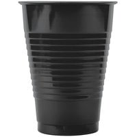 Creative Converting 28134071 12 oz. Black Velvet Plastic Cup - 20 / Pack