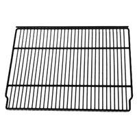 True 909154 Black Coated Wire Shelf - 20 7/8 inch x 16 1/4 inch