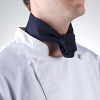 37 inch x 14 inch Navy Blue Neckerchief / Bandana