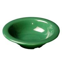 Thunder Group CR5044GR Green 4 oz. Melamine Salad Bowl - 12/Pack