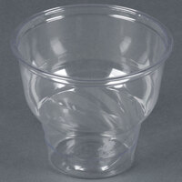 12 oz. Clear PET Sundae Cup - 1000 / Case