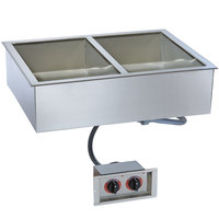Alto-Shaam 200-HW/D4 Two Pan Drop In Hot Food Well for 4 inch Deep Pans - 240V