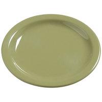 Carlisle 4385682 Wasabi Dayton 5 5/8 inch Melamine Bread & Butter Plate - 48/Case