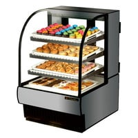 True TCGD-31 31 inch Stainless Steel Dry Bakery Display Case - 14 Cu. Ft.