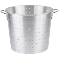 36 Qt. Tapered Aluminum Vegetable Colander with Handles