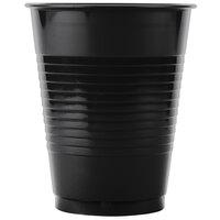 Creative Converting 28134081B 16 oz. Black Velvet Plastic Cup - 50 / Pack