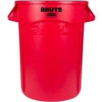 Rubbermaid FG264300RED BRUTE 44 Gallon Red Trash Can