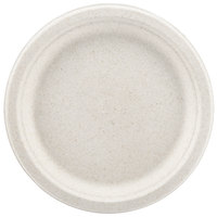 Green Wave Ovation Sugarcane / Bagasse OV-P009 9 inch Premium Biodegradable and Compostable Plate   - 125/Pack