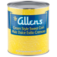 Cream Style Golden Sweet Corn - #10 Can - 6/Case