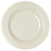 Homer Laughlin 7000-0343 Gothic 13 oz. American White (Ivory / Eggshell) Undecorated Pasta Bowl - 12/Case