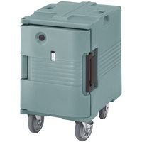 Cambro UPCHW4002401 Slate Blue Ultra Pan Carrier with Casters - 220V (International Use Only)