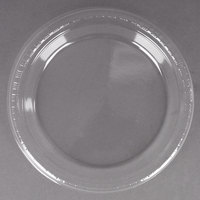 Creative Converting 28114121B 9 inch Clear Plastic Dinner Plate - 600 / Case