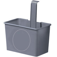 Unger SMSBG Gray Side Bucket for 8 Gallon Gray Mop Buckets