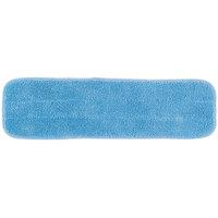 Carlisle 363321814 18 inch Blue Microfiber Wet Mop Pad