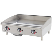 Star Max 636MF 36 inch Manual Control Gas Countertop Griddle - 84,900 BTU