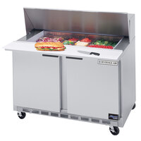 Beverage Air SPE48-18M 48 inch Mega Top Refrigerated Salad / Sandwich Prep Table