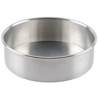 8 inch x 2 inch Aluminum Removable Bottom Cake Pan
