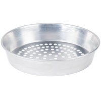 American Metalcraft A90102SP 10 inch x 2 inch Super Perforated Standard Weight Aluminum Tapered / Nesting Pizza Pan