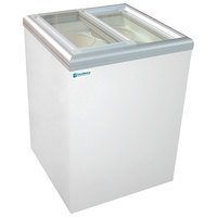 Excellence ISL5D Ice Cream Flat Top Flat Lid Display Freezer - 6 cu. ft.
