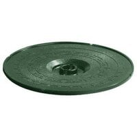 Carlisle 070308 Forest Green Lift-Off Replacement Lid for 071308 8 inch Tortilla Server - 12 / Case