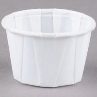 Dart Solo SCC100 1 oz. White Paper Souffle / Portion Cup 250/Box