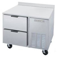 Beverage Air WTRD46A-2 46 inch Compact Worktop Refrigerator - 2 Drawers