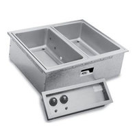 APW Wyott SHFWEZ-6D EZ-Fill 6 Well Insulated Drop In Hot Food Well - 208 / 240V