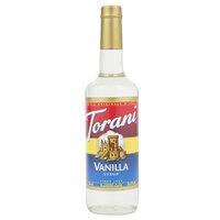 Torani 750 mL Vanilla Flavoring Syrup