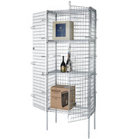 Wire Security Cage - 36 inch x 24 inch x 63 inch