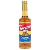 Torani 750 mL Caramel Flavoring Syrup