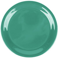 Carlisle 3300809 6 1/2 inch Meadow Green Sierrus Narrow Rim Pie Plate - 48/Case