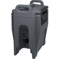 Cambro UC250191 Granite Gray Ultra Camtainer 2.75 Gallon Insulated Beverage Dispenser