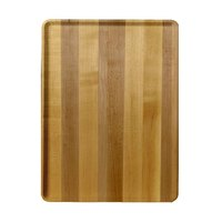 Cambro 1220D303 12 inch x 20 inch Light Butcher Block Wood-Look Dietary Tray - 12/Case