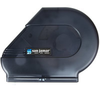 San Jamar R3000TBK Reserva Classic 9 inch - 10 1/2 inch Jumbo Toilet Tissue Dispenser - Black Pearl