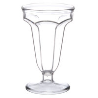 GET ICM-24-CL 5 oz. Clear Plastic Ice Cream Cup - 24/Case