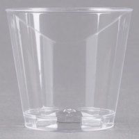 Fineline Quenchers 401-CL 1 oz. Plastic Shot Cup - 2500/Case