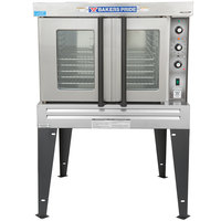 Bakers Pride BCO-E1 Cyclone Series Single Deck Full Size Electric Convection Oven - 208V, 1 Phase, 10500W