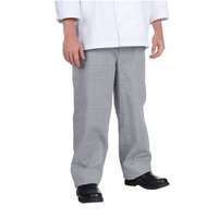 Chef Revival P020HT 6X Houndstooth Men's Baggy Cook Pants