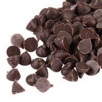 Pure Semi-Sweet 4M Mini Chocolate Baking Chips 25 lb.