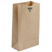 6 lb. Brown Paper Bag 500/Bundle