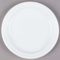 Dart Solo 7PWF 7 inch White Famous Service Impact Plastic Plate - 125/Pack