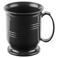 Cambro MDSM8110 Black Insulated 8 oz. Mug - Shoreline Meal Delivery System 12 / Pack