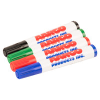 Aarco Dry Erase Markers - Pack of 4 - 4/Pack