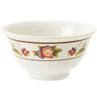 GET M-0161-TR 6 oz. Tea Rose Melamine Bowl - 24 / Case
