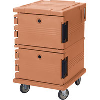 Cambro UPC1200157 Coffee Beige Camcart Ultra Pan Carrier - Front Load